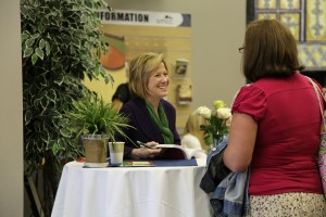 Renee signing book 2