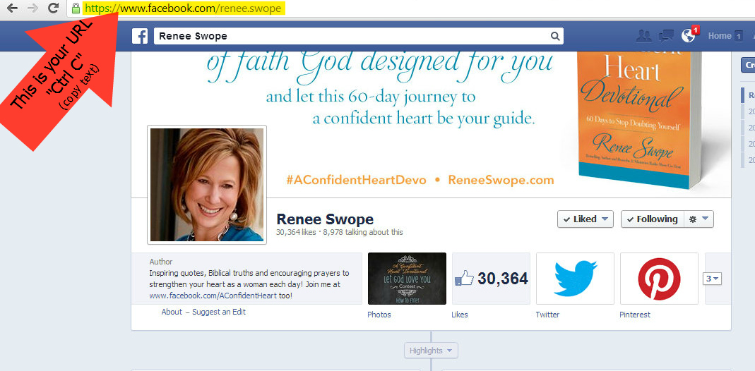 How To Copy Paste A Url Renee Swope