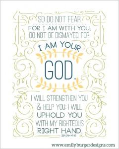 So Do Not Fear