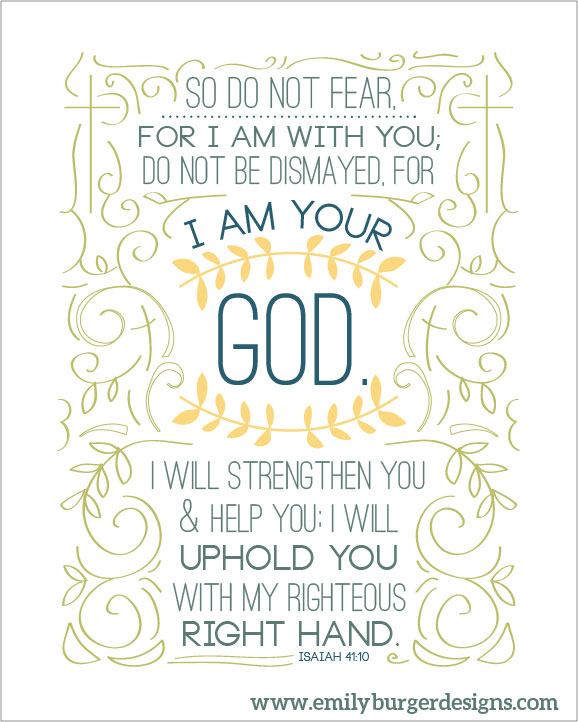 So Do Not Fear