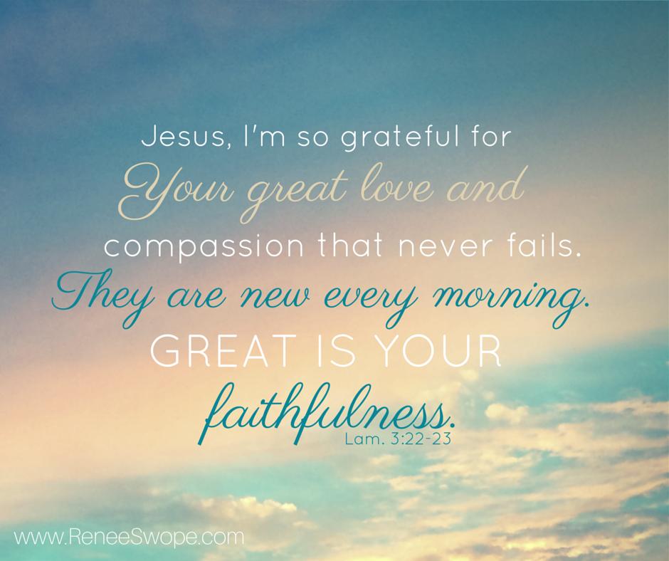 GreatIsHisFaithfulness