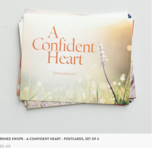 A Confident Heart Postcard Set